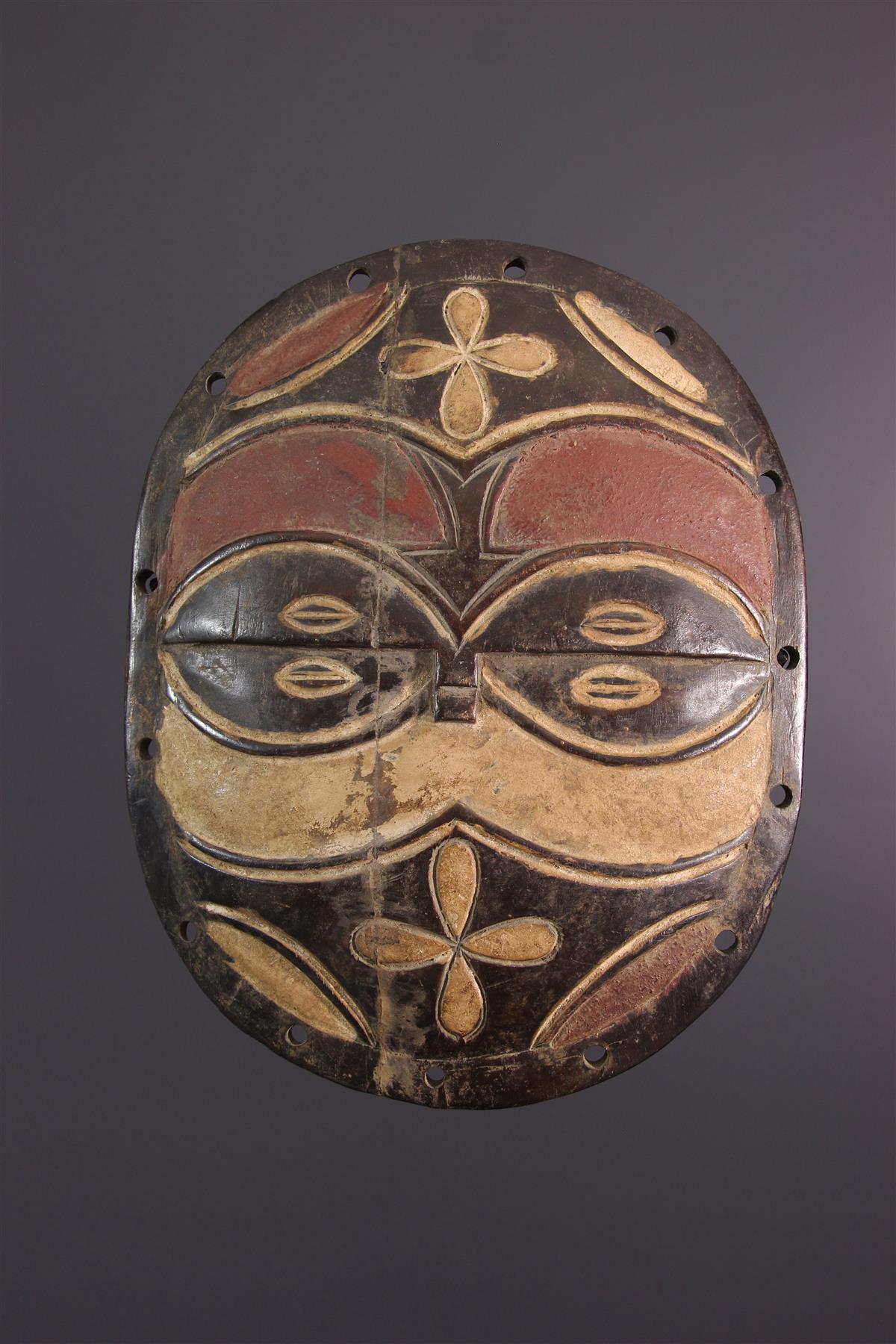 Teke schild - Afrikaanse kunst