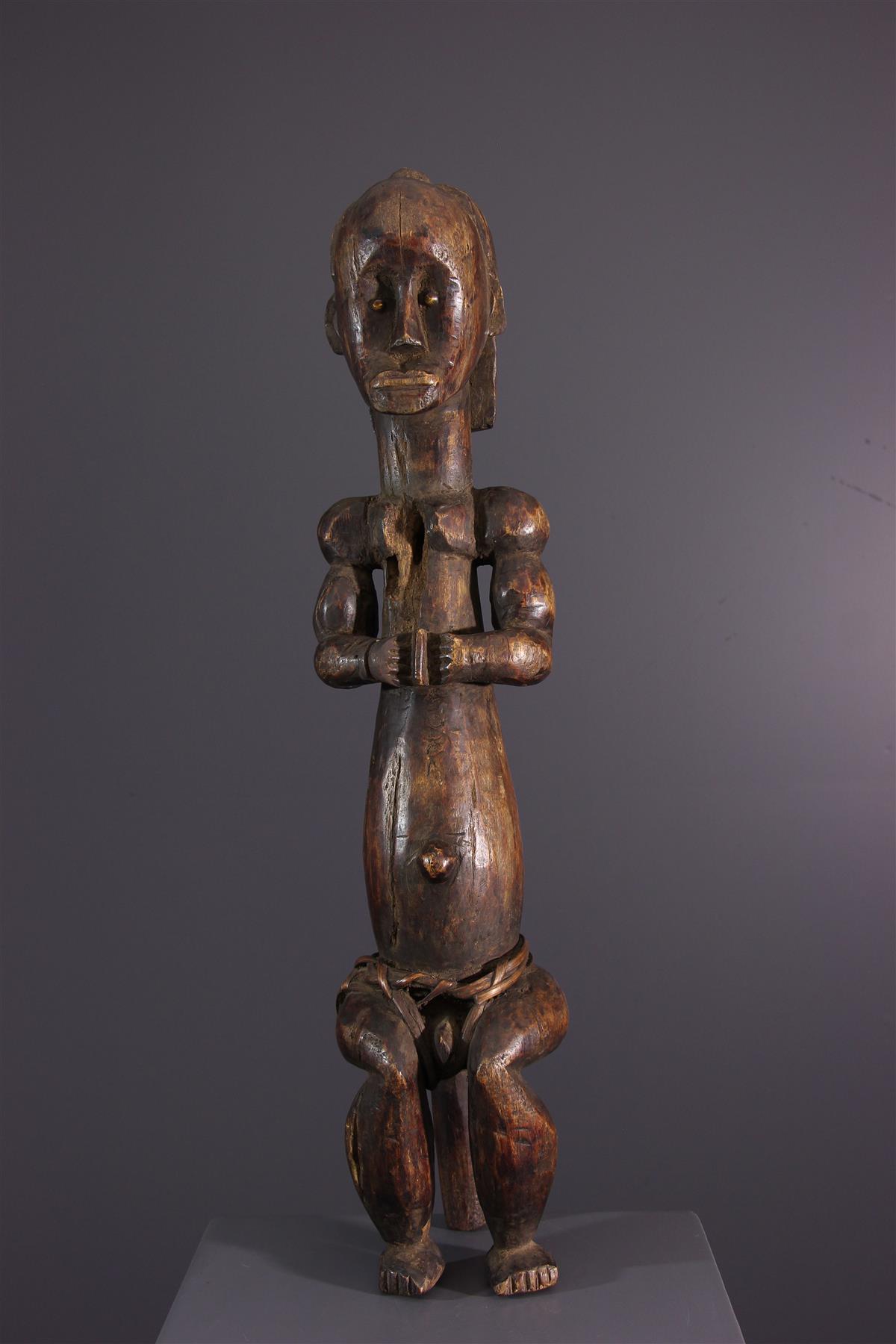 Fang standbeeld - Afrikaanse kunst