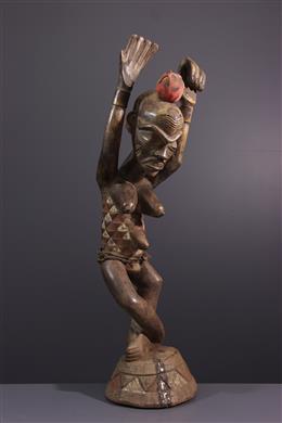 Pende ritueel standbeeld