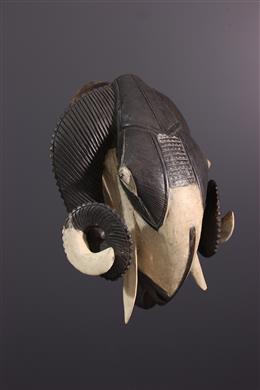 Afrikaanse kunst - Baoule masker