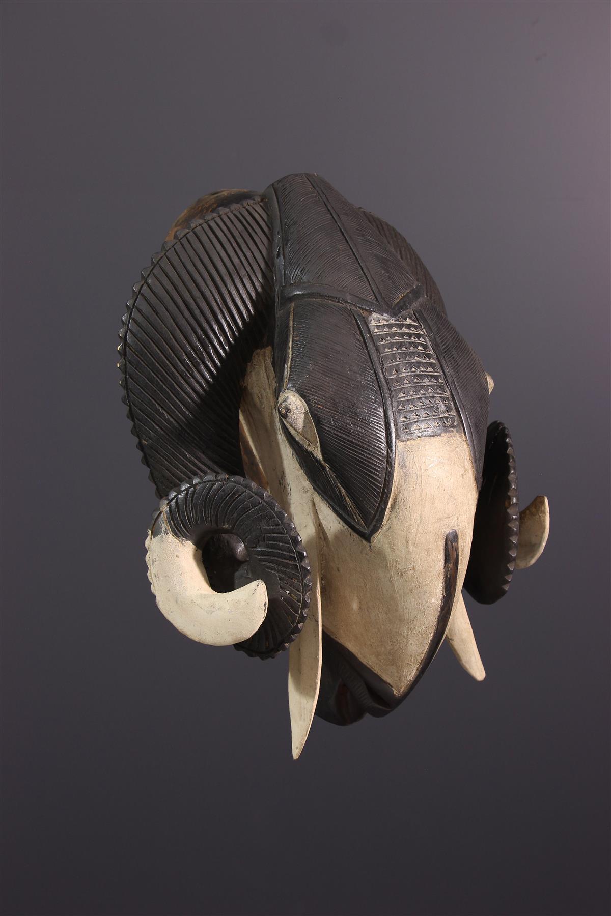 Baoule masker - Afrikaanse kunst