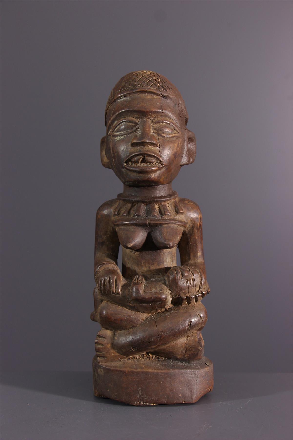 Kongo beeldje - Afrikaanse kunst