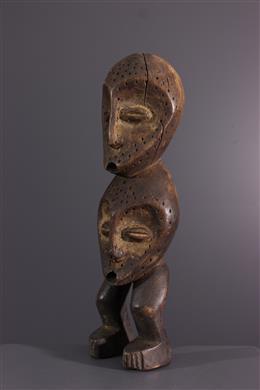 Afrikaanse kunst - Lega inwijdingsfiguur van de Bwami