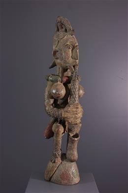 Afrikaanse kunst - Igbo schrijn figuur