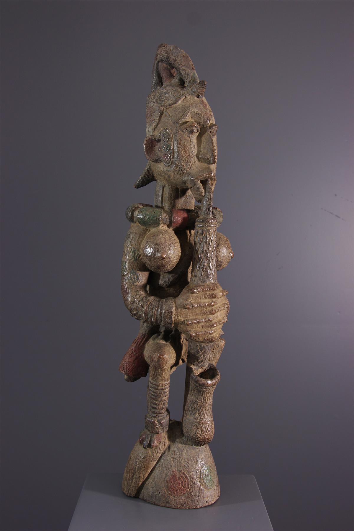 Igbo standbeeld - Afrikaanse kunst