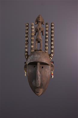 Afrikaanse kunst - Ntomokum Bambara masker