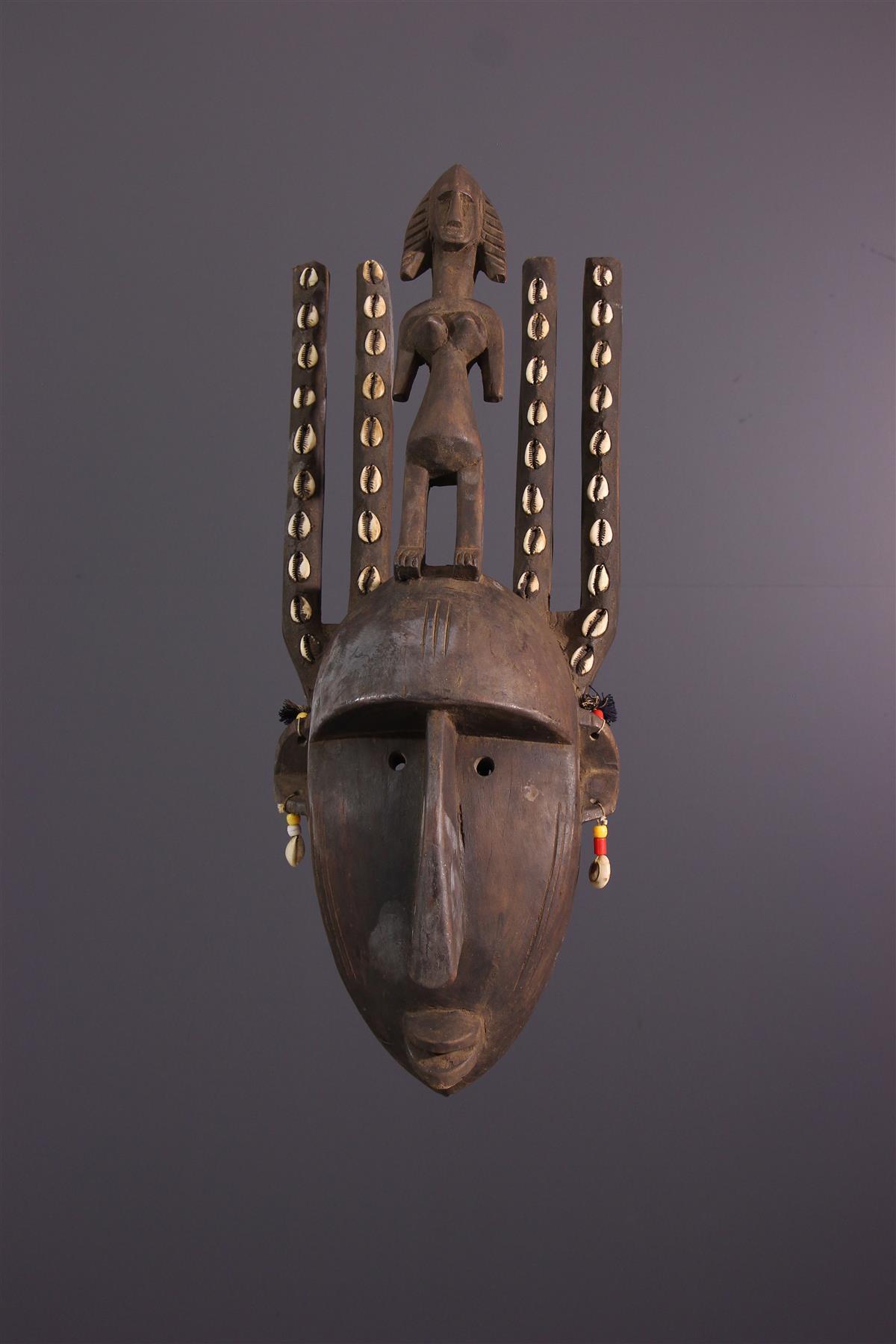 Bamana masker - Afrikaanse kunst