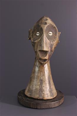 Afrikaanse kunst - Lega/Zimba borstbeeld