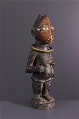 Afrikaanse kunst - Yoruba Ere Ibeji beeldje
