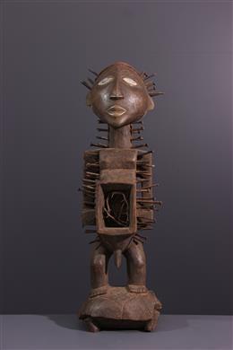 Kongo Nkishi Yombe ritueel figuur