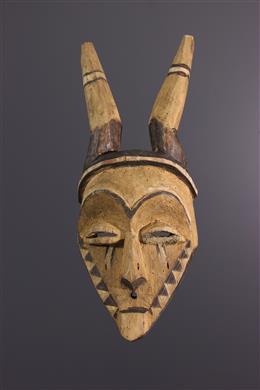 Afrikaanse kunst - Pende Giphogo masker