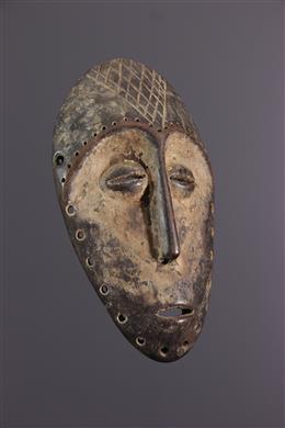 Afrikaanse kunst - Lega Bwami masker