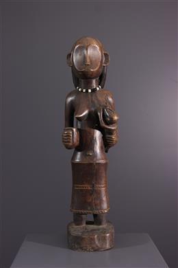 Afrikaanse kunst - Ovimbundu moederschapsfiguur