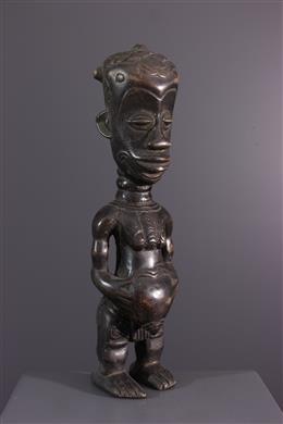 Afrikaanse kunst - Beschermend figuur Bena Lulua