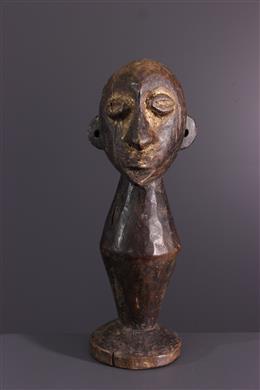 Afrikaanse kunst - Lega/Zimba borstbeeld van Bwami