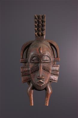 Afrikaanse kunst - Senoufo Kpélié masker