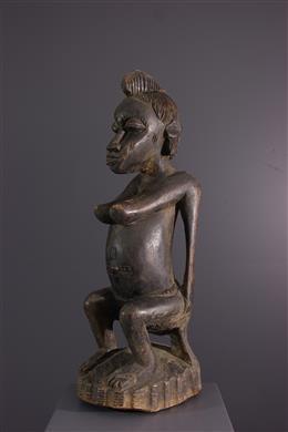 Afrikaanse kunst - Senoufo vrouwelijk figuur Katyelo