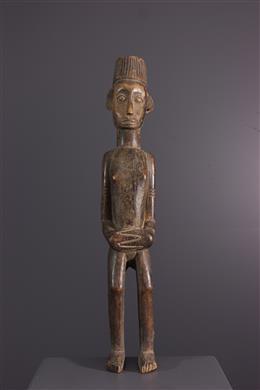 Afrikaanse kunst - Ewe Togo koloniaal standbeeld