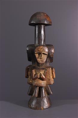 """Afrikaanse kunst - Ambete """"pilon"""" beeldjes"""