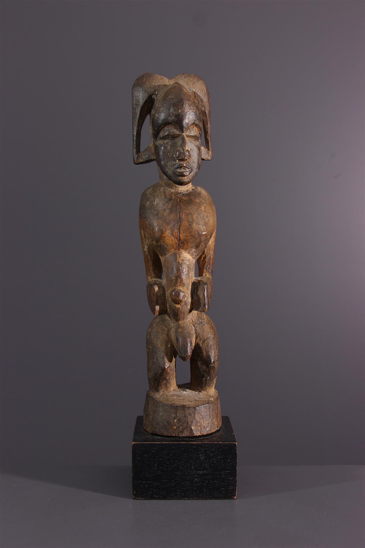 Senoufo beeldje - Afrikaanse kunst