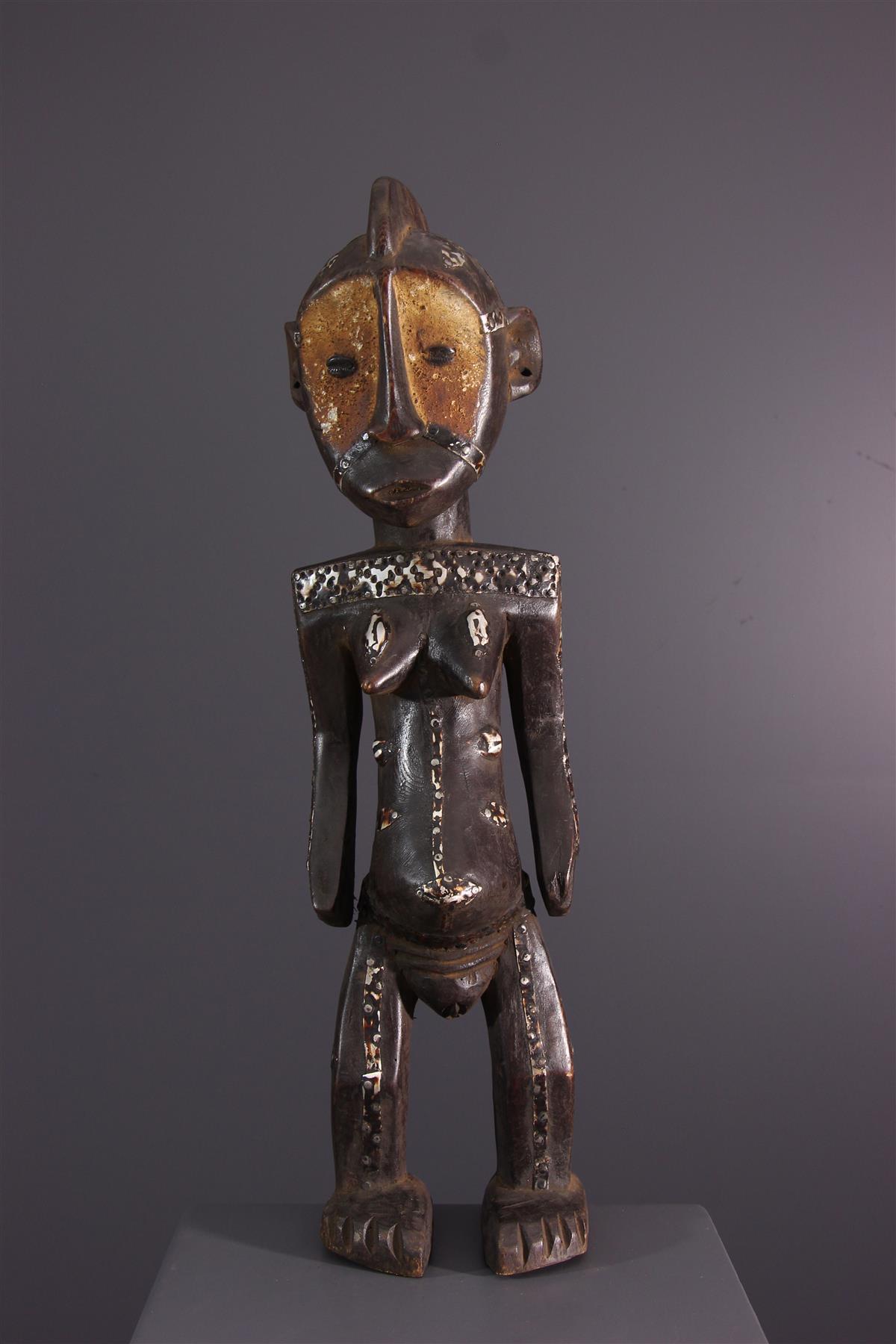 Ngbaka standbeeld - Afrikaanse kunst