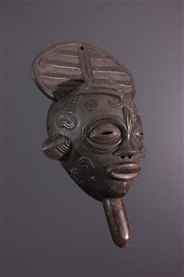 Bena Lulua masker met handvat