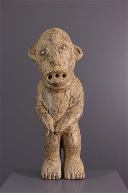 Bamileke N  Ketuok relikwie beeld