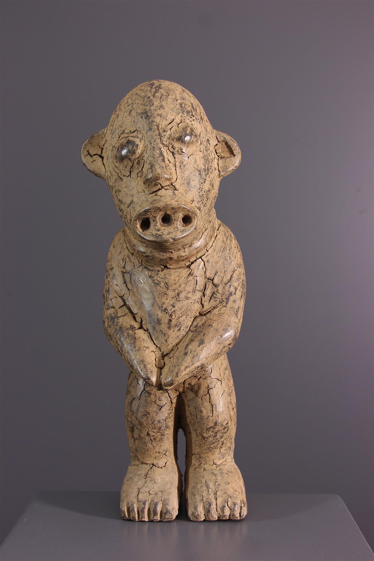 Bamileke standbeeld - Afrikaanse kunst
