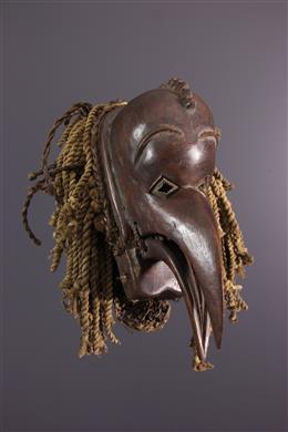 Afrikaanse kunst - Chokwe Mukishi wa Thela masker
