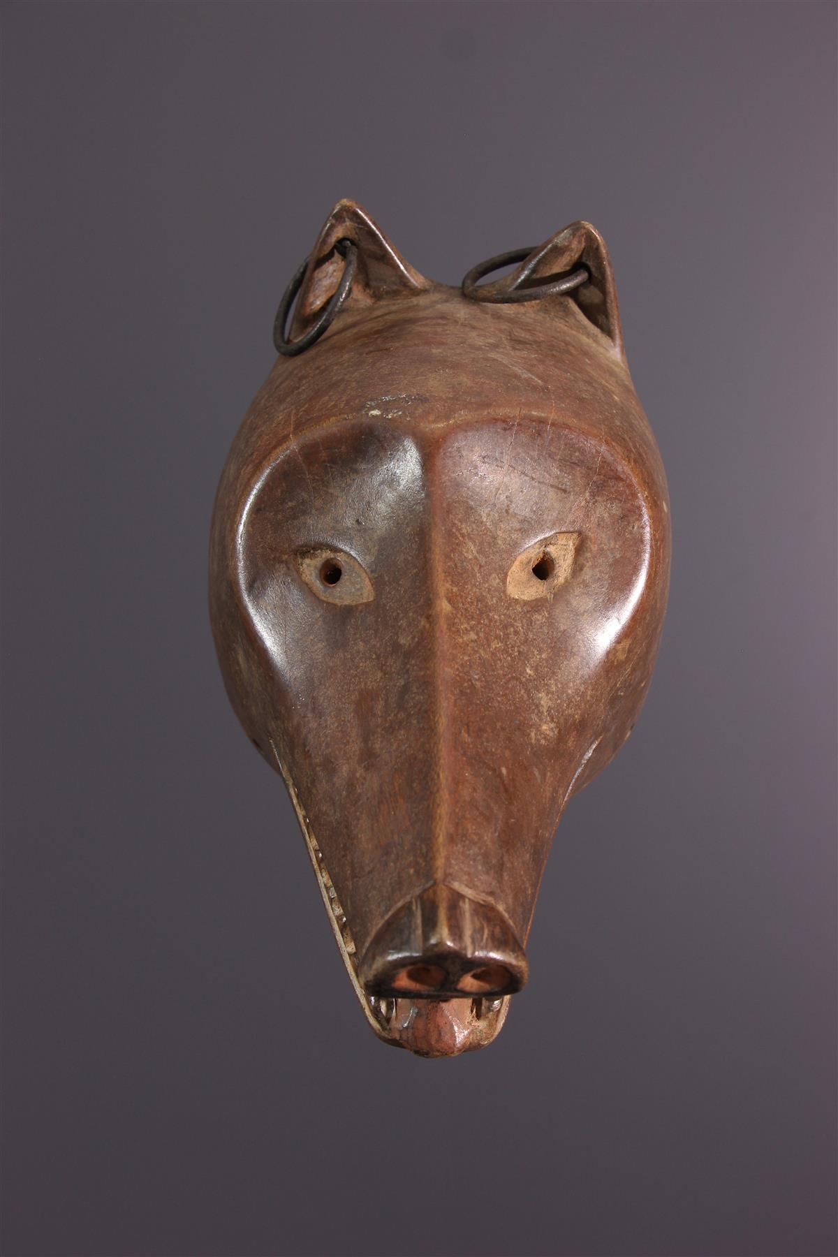 Tschokwe masker - Afrikaanse kunst
