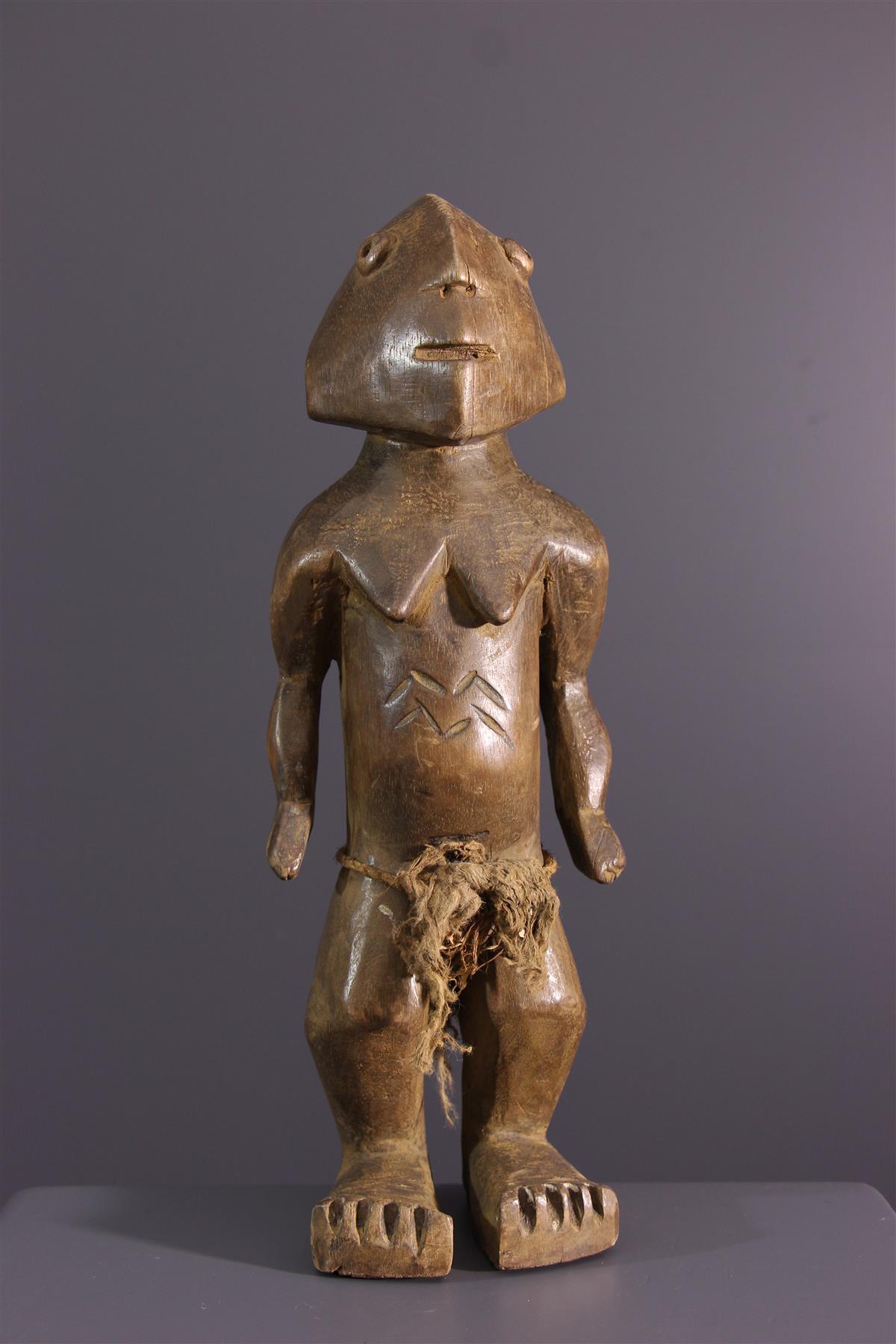 Ngbandi beeldje - Afrikaanse kunst