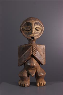 Afrikaanse kunst - Bwami Lega initatie figuur