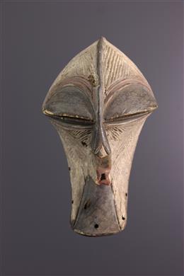 Afrikaanse kunst - Songye Kikashi masker