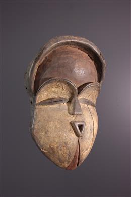 Afrikaanse kunst -  Vuvi / Tsogho masker