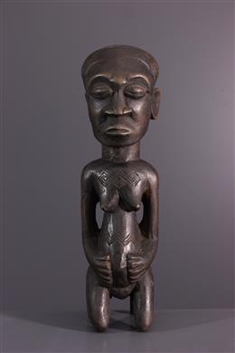 Afrikaanse kunst - Kuba vrouwenfiguur