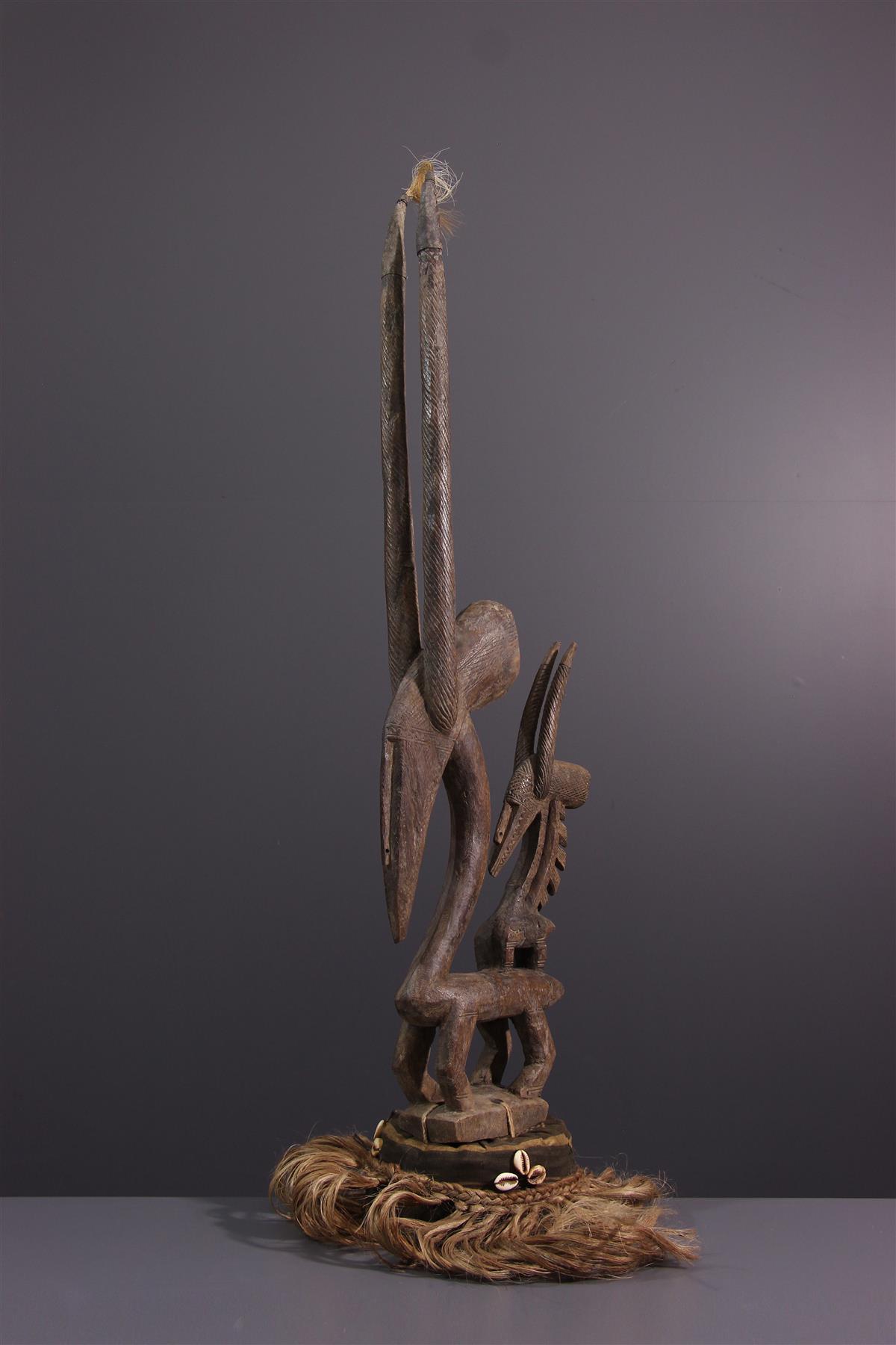 Ci Wara masker - Afrikaanse kunst