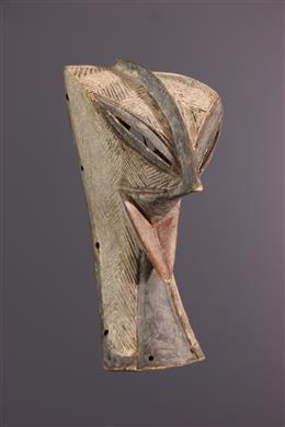 Afrikaanse kunst - Zoomorphic masker Luba/Zela Mukisi a kukaya