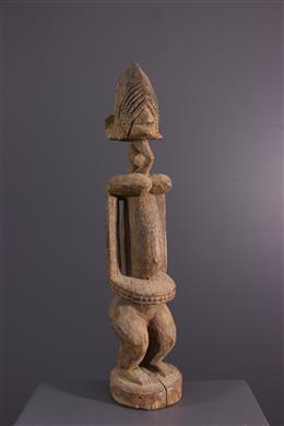 Afrikaanse kunst - Dogon standbeeld