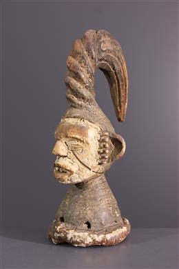 Afrikaanse kunst - Igbo fetisj kuif masker