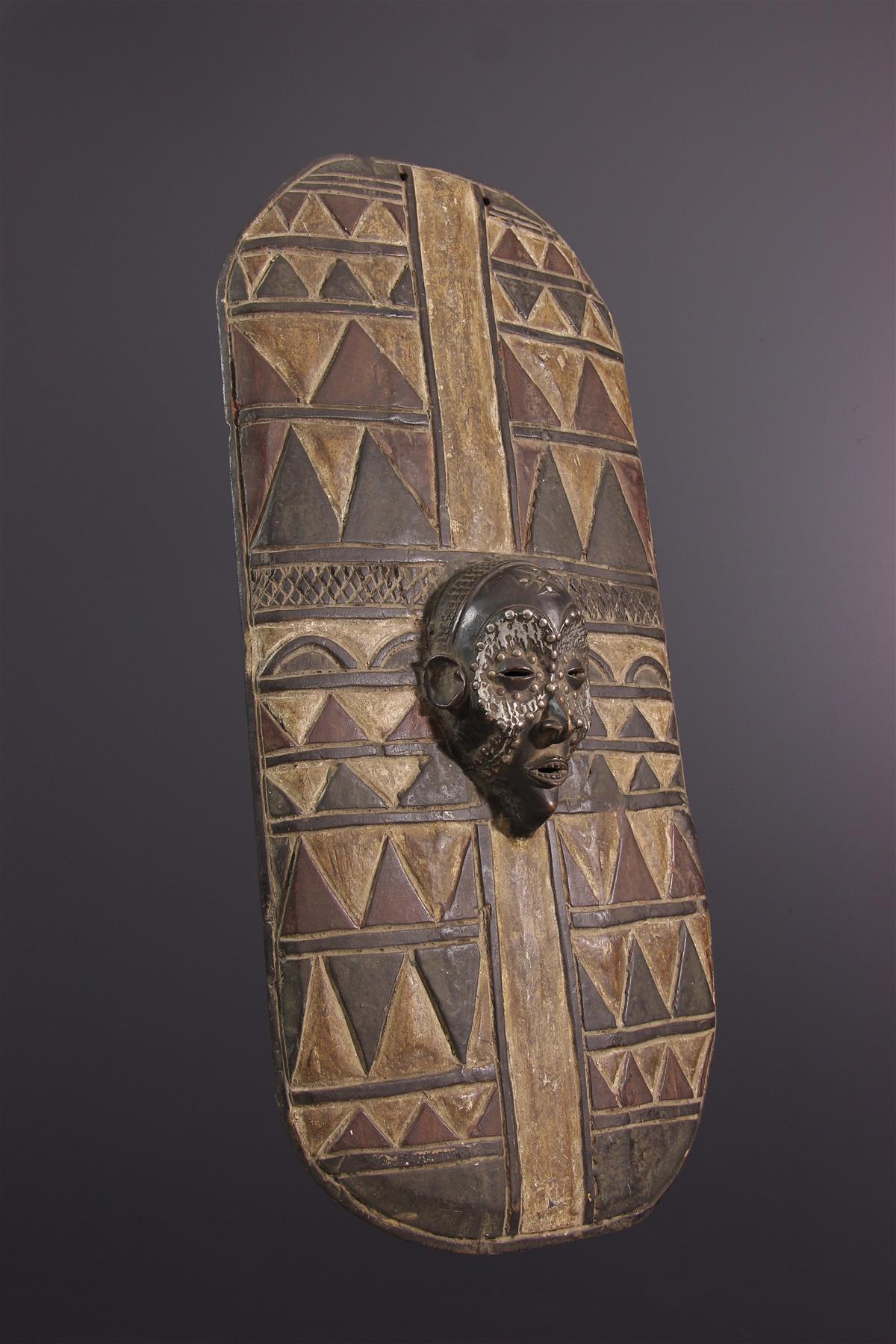 Chokwe schild - Afrikaanse kunst