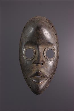 "Afrikaanse kunst - Dan Gunyeya ""race"" masker"