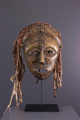 Afrikaanse kunst - Lunda Makishi masker