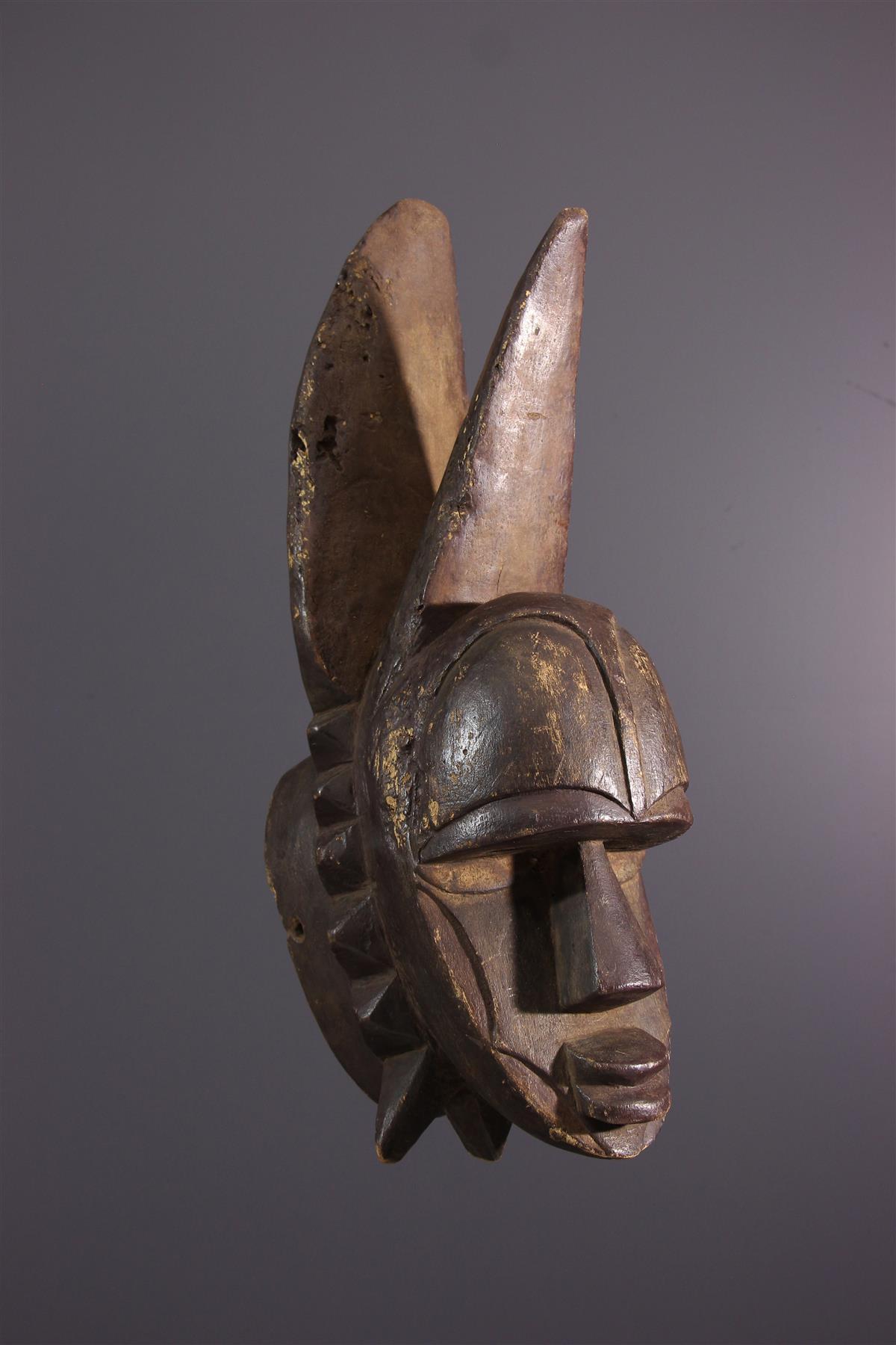 Eket masker - Afrikaanse kunst