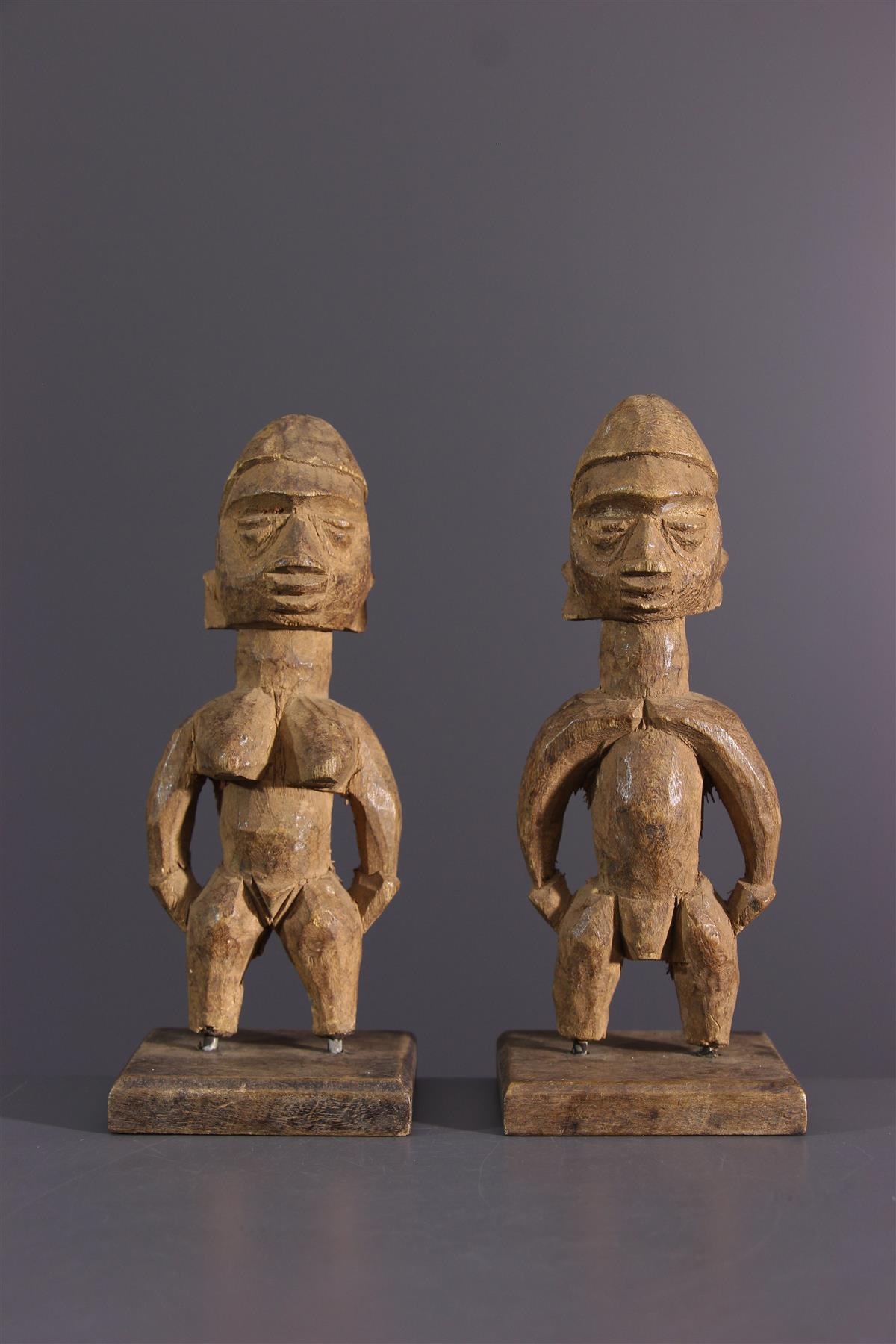 Ewe beeldje - Afrikaanse kunst