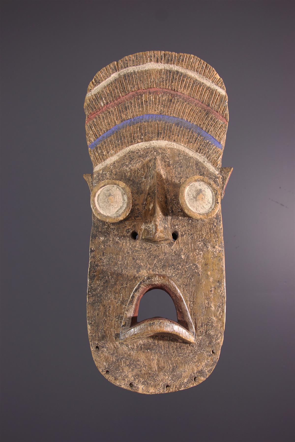Kru masker - Afrikaanse kunst