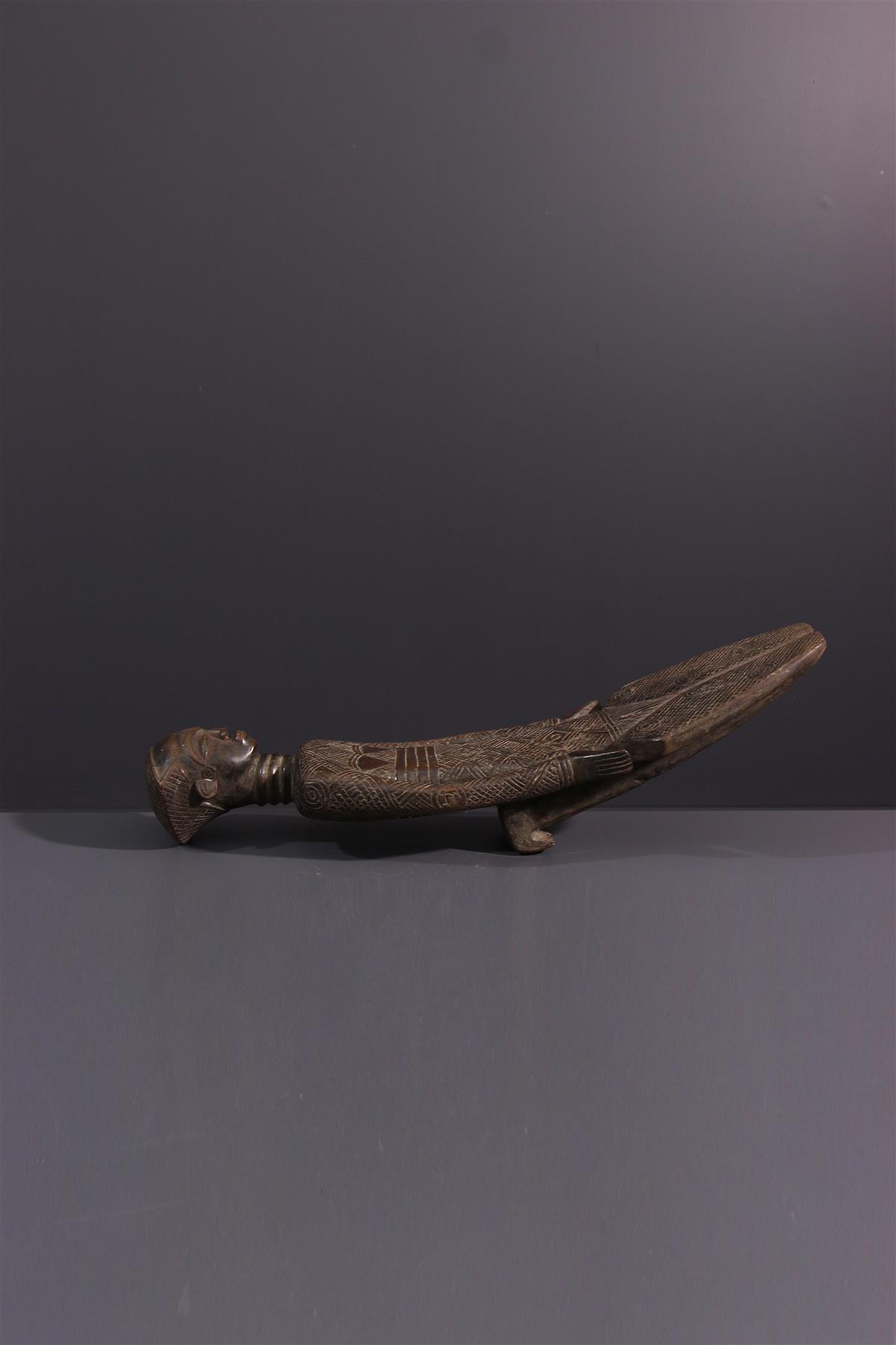 Ndengese rugleuningsteun - Afrikaanse kunst