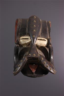 Afrikaanse kunst -  Gueré / Bété masker