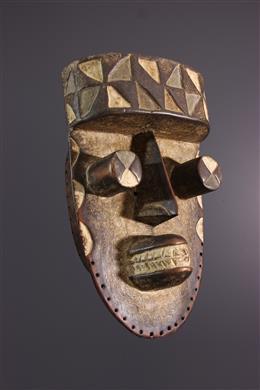 Afrikaanse kunst - Grebo Kru masker