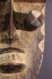 Masque africainGrebo masker