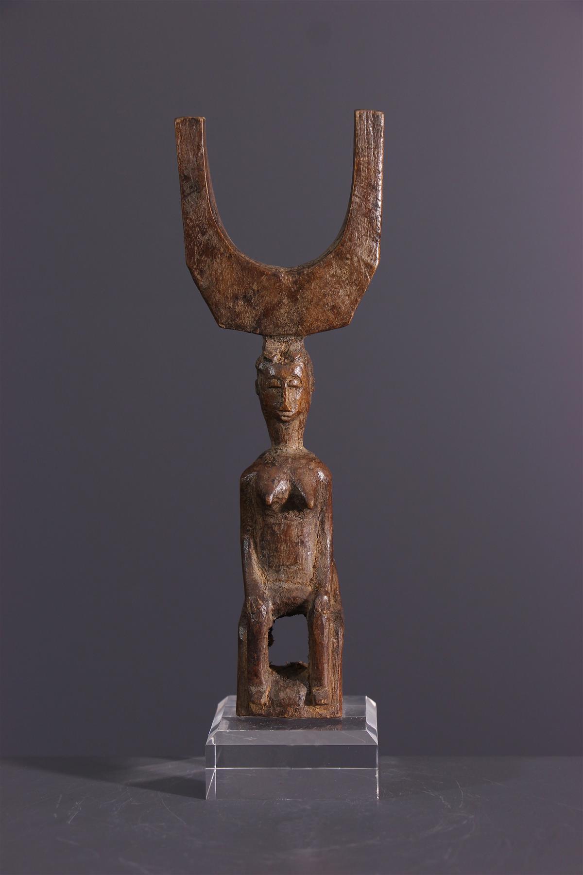 Baoule katapult - Afrikaanse kunst